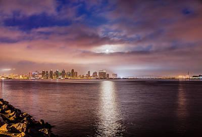 Whalen Photograph - Super Moon Rising by Josh Whalen