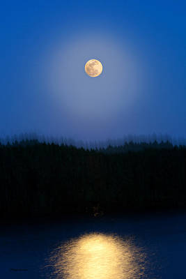 Photograph - Super Moon Vibe by Michelle Wiarda