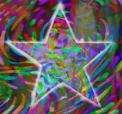 Super Star Art Print by Kevin Caudill