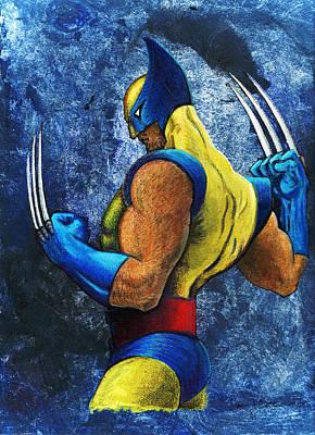 Superhero Print by Steve Benton