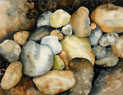 Painting - Superior Rocks by Pamela Lee