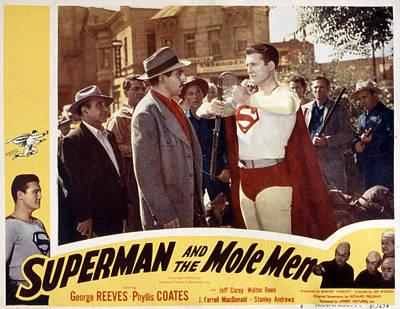 Superman And The Mole Men, Jeff Corey Art Print by Everett