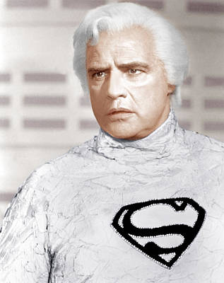 Incol Photograph - Superman, Marlon Brando, 1978 by Everett