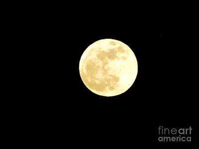 Photograph - Supermoon2012 by Serena Ballard