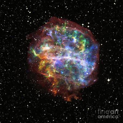 Supernova Remnant G292.0+1.8 Art Print