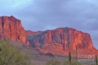 Superstitions After The Rain Art Print by Patty Descalzi
