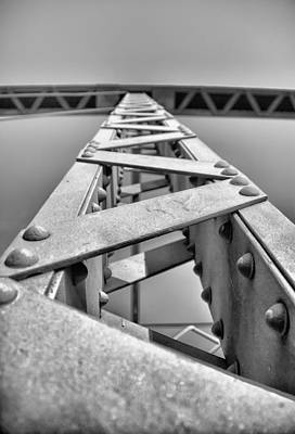 Beam Digital Art - Supporting Structure by Bill Tiepelman