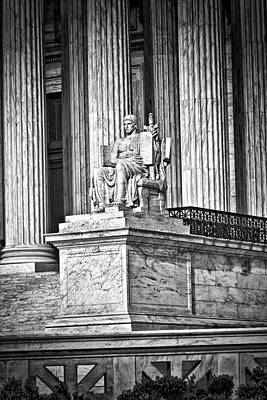 Supreme Court Building 1 Art Print by Val Black Russian Tourchin