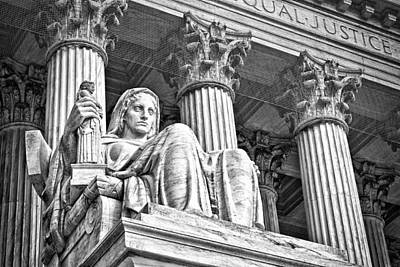 Photograph - Supreme Court Building 16 by Val Black Russian Tourchin