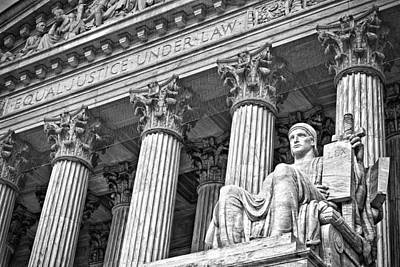 Photograph - Supreme Court Building 18 by Val Black Russian Tourchin