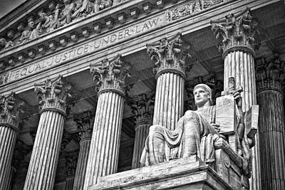 Photograph - Supreme Court Building 19 by Val Black Russian Tourchin