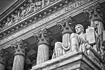 Photograph - Supreme Court Building 20 by Val Black Russian Tourchin