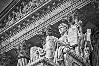 Photograph - Supreme Court Building 21 by Val Black Russian Tourchin