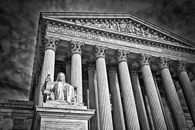 Photograph - Supreme Court Building 6 by Val Black Russian Tourchin