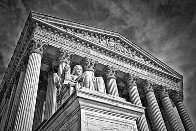 Photograph - Supreme Court Building 7 by Val Black Russian Tourchin