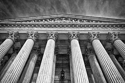 Photograph - Supreme Court Building 9 by Val Black Russian Tourchin