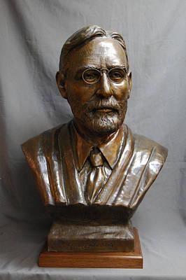 Atlas Bronze Casting Sculpture - Supreme Court Justice George Sutherland Custom Bronze Sculpture by Stan Watts