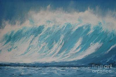 Painting - Surf Up by Ronald Tseng