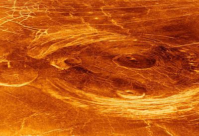 Venusian Photograph - Surface Of Venus by Detlev Van Ravenswaay