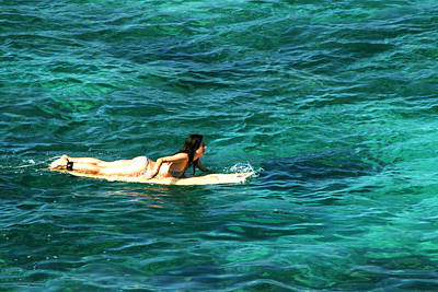 Photograph - Surfer Girl by Dorothy Cunningham