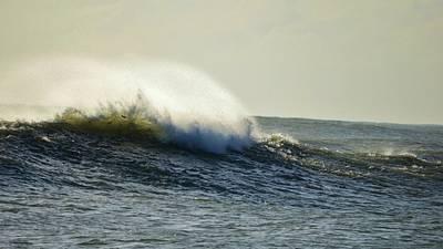 Fort Pierce Inlet Photograph - Surffish by Lynda Dawson-Youngclaus