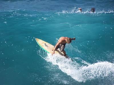 Surfing 002 Art Print