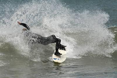 Surfing 396 Print by Joyce StJames
