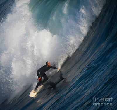 Photograph - Surfing by Sean Duan
