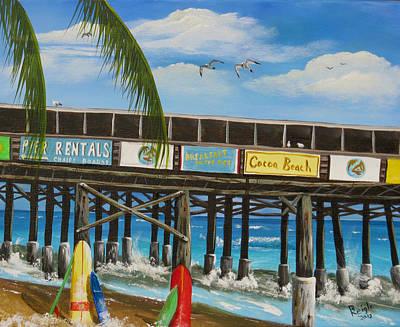 Surfs Up Art Print by Bruce Reigle