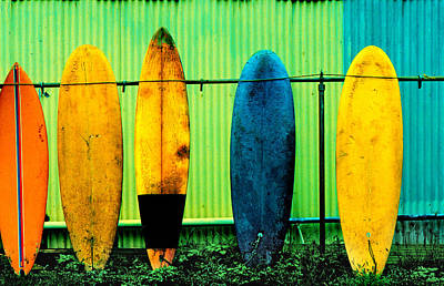 Shed Photograph - Surf's Up by John Wong