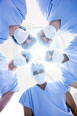 Surgical Team Art Print by