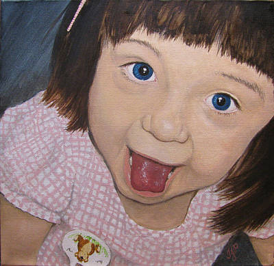 Youthful Painting - Surprise by Tanya Petruk