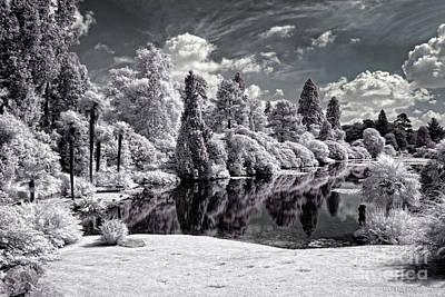 Surreal Lake - Infrared Photography Art Print