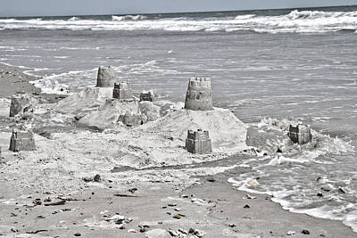 Sand Castles Photograph - Surreal Unreal by Betsy Knapp
