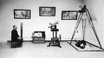 Police Officer Photograph - Surveillance Equipment, 19th Century by Science Source