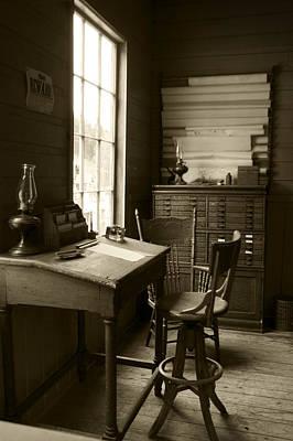 Barkerville Photograph - Surveyor's Helm by Wayne Stadler