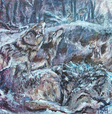 Painting - Survival by Sheila Holland
