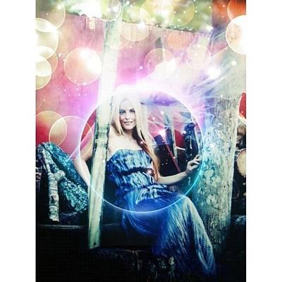 Wizard Photograph - #survivor  @catg239 #magic #fairy #cat by Maria Lankina