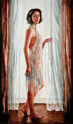 Painting - Survivor Self-portrait by Carolyn Coffey Wallace