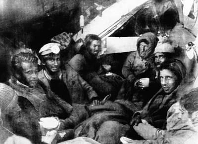 Survivors Of The Uruguayan Plane Crash Print by Everett