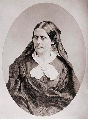 Susan B. Anthony 1820 �1906, American Art Print