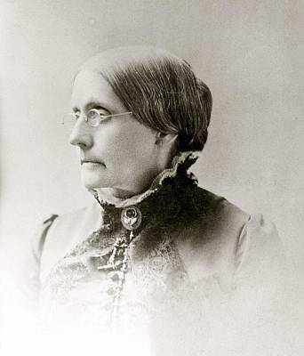 Susan B. Anthony 1820-1906, American Art Print
