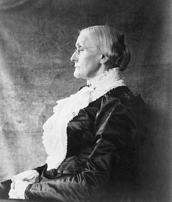 Susan B. Anthony 1820-1906, Ca. 1890 Art Print