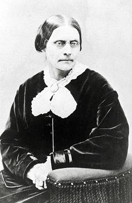 Susan B. Anthony 1820-1906, In 1871 Art Print