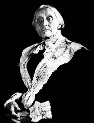 Susan B. Anthony, Photograph Taken Art Print