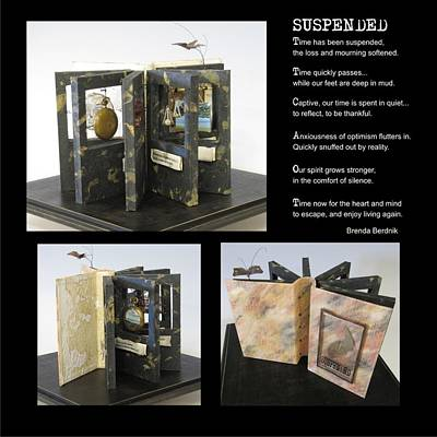 Mixed Media - Suspended by Brenda Berdnik