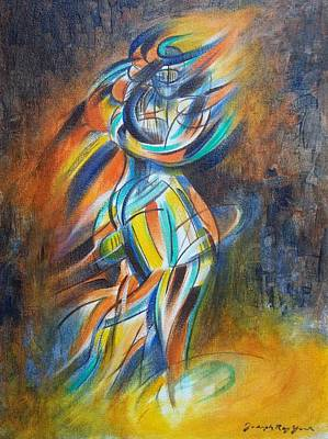 Painting - Suspender by Joseph York