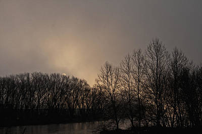 Susquehanna River Sunrise Art Print