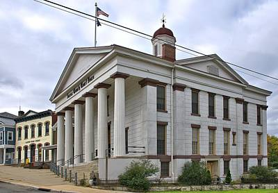 Photograph - Sussex County Courthouse by Steven Richman