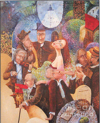 Painting - Suzanna And Seven Old Men by Igor Postash